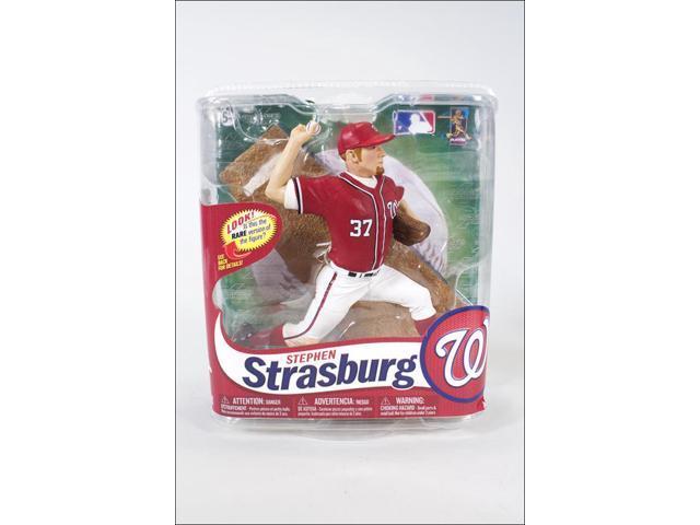Mcfarlane MLB Series 31 Stephen Strasburg Variant ( Red Jersey)