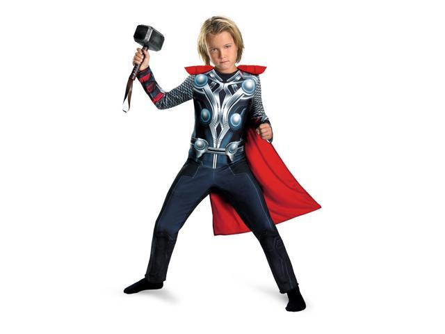 The Avengers Thor Classic Costume Jumpsuit Child Toddler Small 4-6