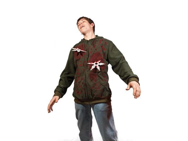 Ninja Star Attack Adult Costume Hoodie X-Large