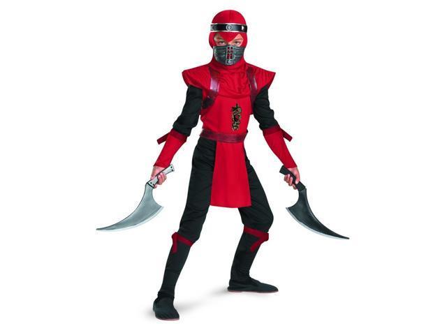 Red Viper Ninja Deluxe Costume Child 4-6
