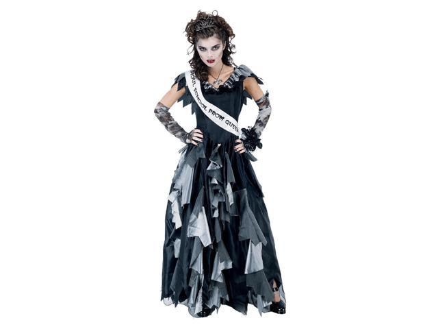 Zombie Prom Queen Costume Dress Adult Small 4-6