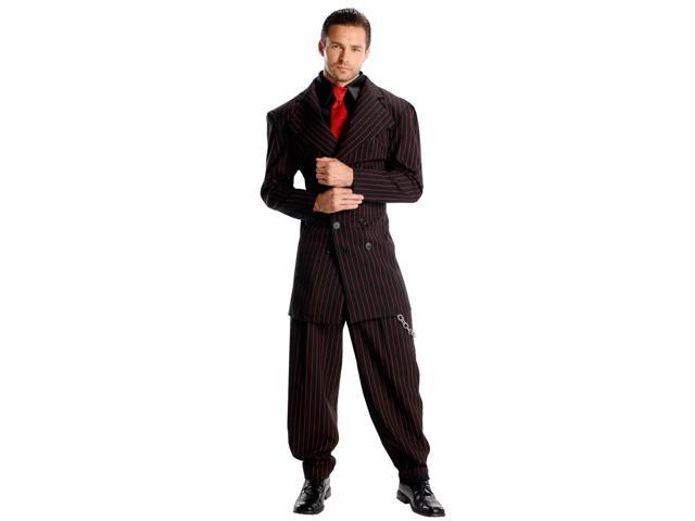 Pin Stripe Zoot Suit Costume Adult One Size Fits Most