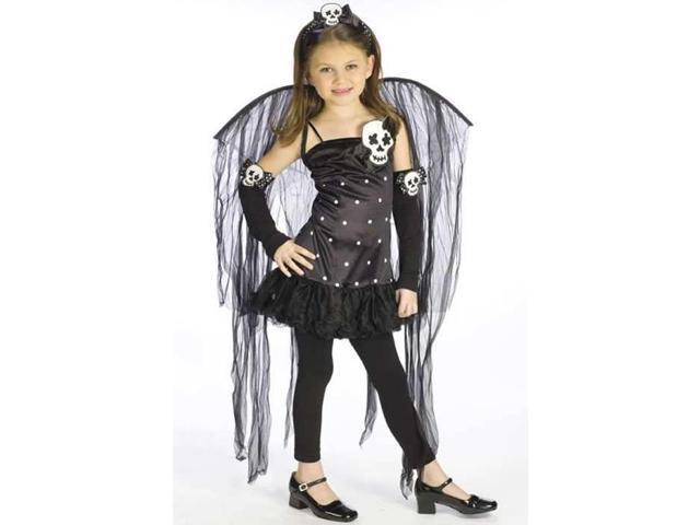 Skull Fairy Costume Child Large