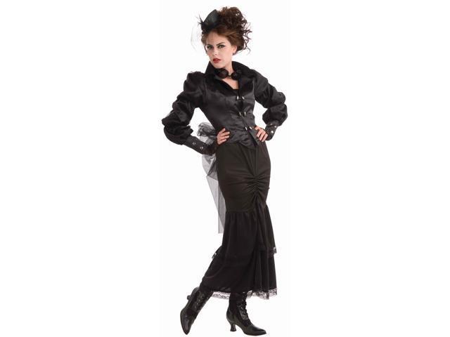 Steampunk Jacket w/Sheer Netting &Skirt Costume Adult Size Standard