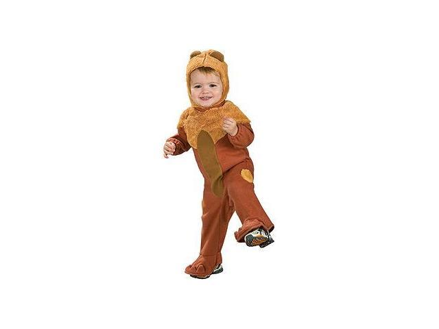 Wizard Of Oz Cowardly Lion Romper Costume Baby 0-9 Months