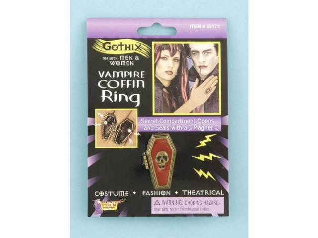 Coffin Costume Ring