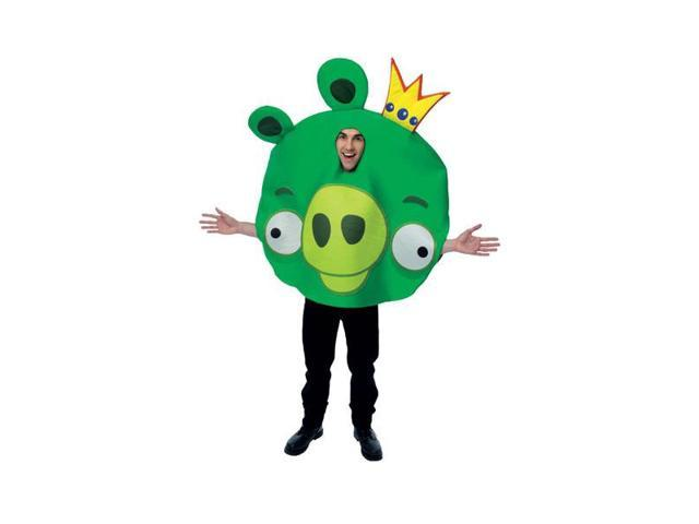 Angry Birds Green King Pig Oversized Foam Adult Costume One Size Fits Most