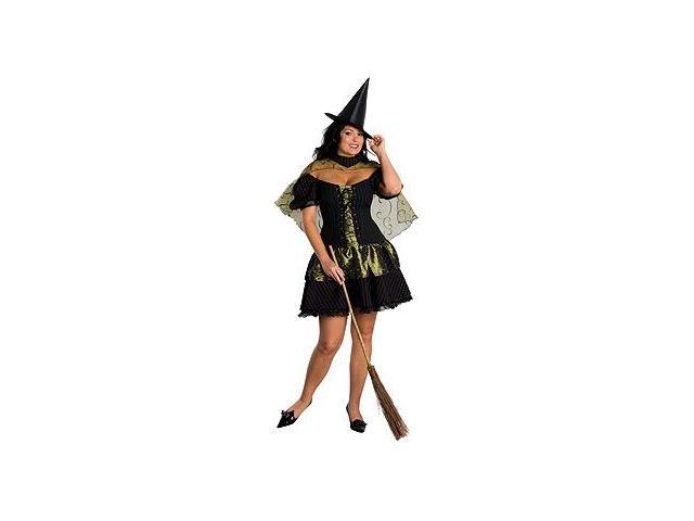 Wizard Of Oz Sexy Wicked Witch Of The West Costume Plus Size