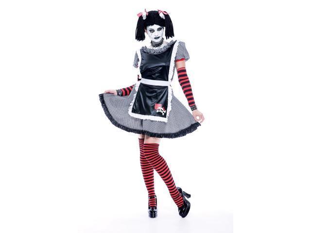Gothic Rag Doll Costume Adult Large