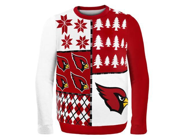 Arizona Cardinals Busy Block NFL Ugly Sweater XX-Large