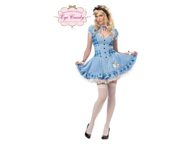 Sweet Alice Wonderland Dress Costume Adult Small 6-8
