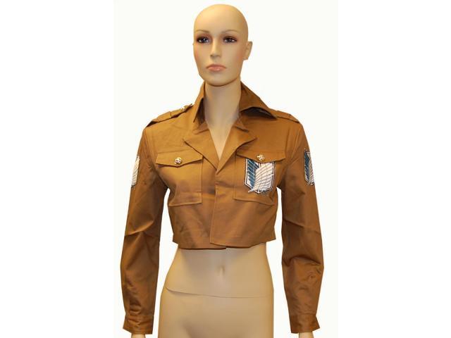Attack On Titan Shingeki Scouting Legion Cosplay Costume Coat X-Large