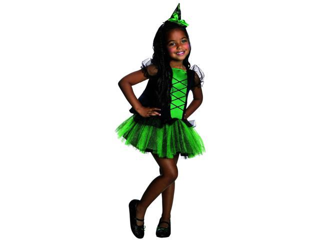 Wizard Of Oz Wicked Witch Of The West Tutu Child Costume Medium