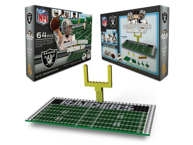 Oakland Raiders NFL Endzone Set
