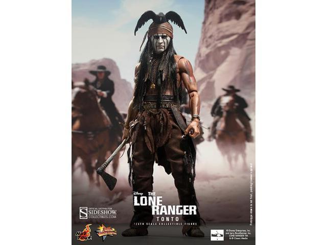 Tonto The Lone Ranger 1:6 Scale Hot Toys Figure