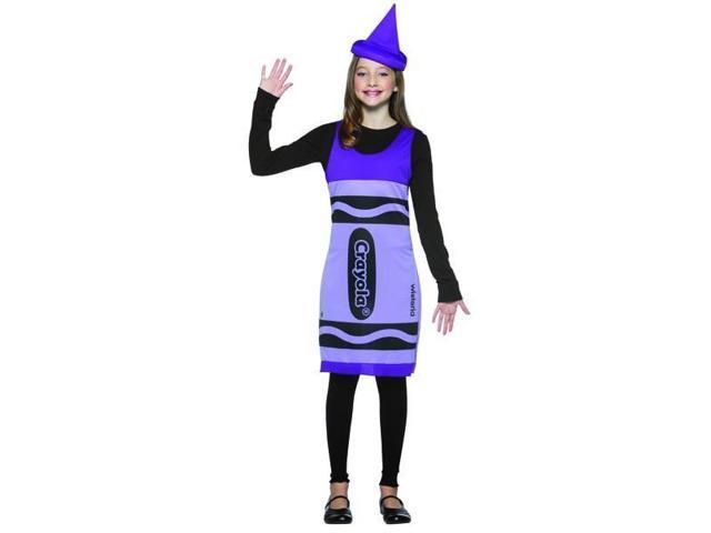Wisteria Purple Crayola Crayon Tank Dress Costume Tween Tween
