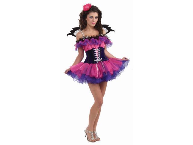 Summer Fairy Poppy Dress Costume Adult Size Standard