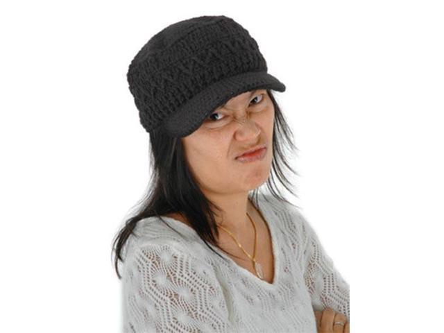 Butta Cap Black Wool Adult Costume Hat