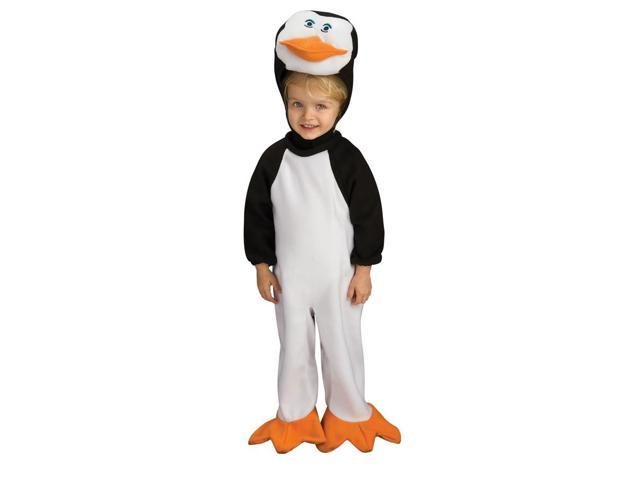 Penguins Of Madagascar Romper Skipper Baby Costume 0-6 Months