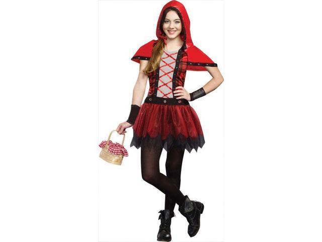 Rockin' Red Riding Hood Tween Costume Large