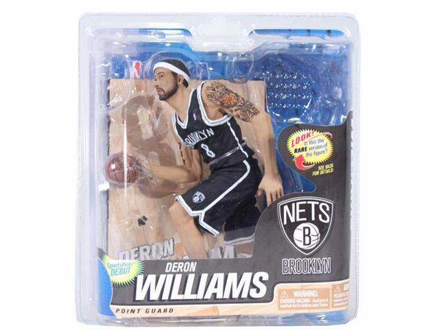 Mcfarlane NBA Series 22 Figure Deron Williams Variant Black Jersey