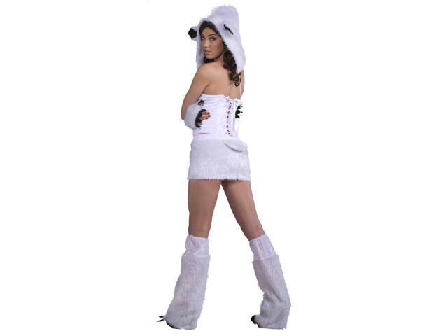 Sexy Polar Bear Adult Costume Medium/Large