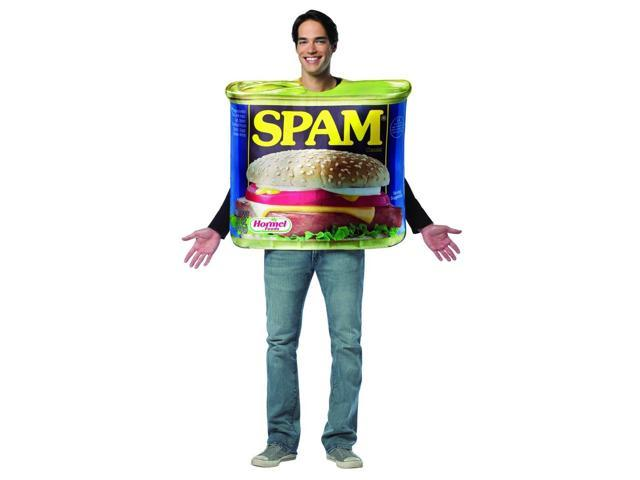 SPAM Can Costume Adult One Size Fits Most
