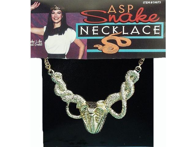 Plastic Costume Snake Necklace