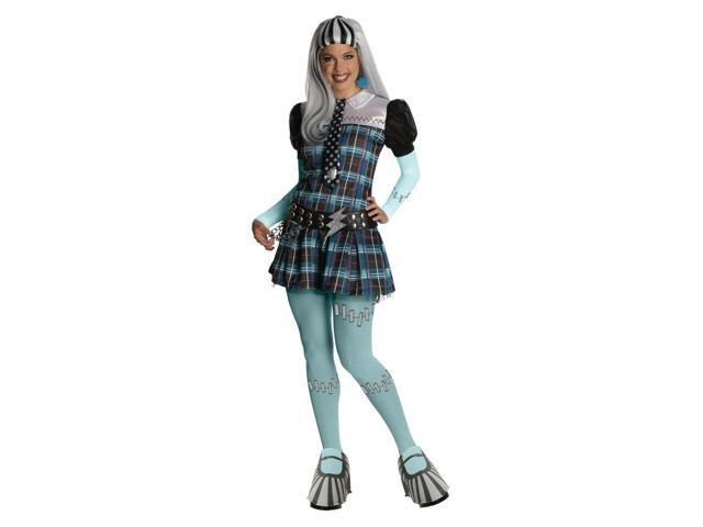 Monster High Deluxe Frankie Stein Costume Adult X-Small 0-2