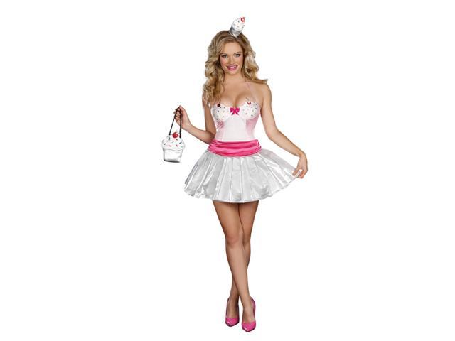 Sexy Cupcake Cutie Dress Costume Adult X-Small 0-2