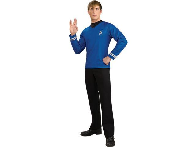 Star Trek Deluxe Spock Costume Shirt Adult Small