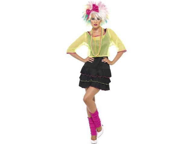 80's Pop Star Deluxe Adult Costume Small