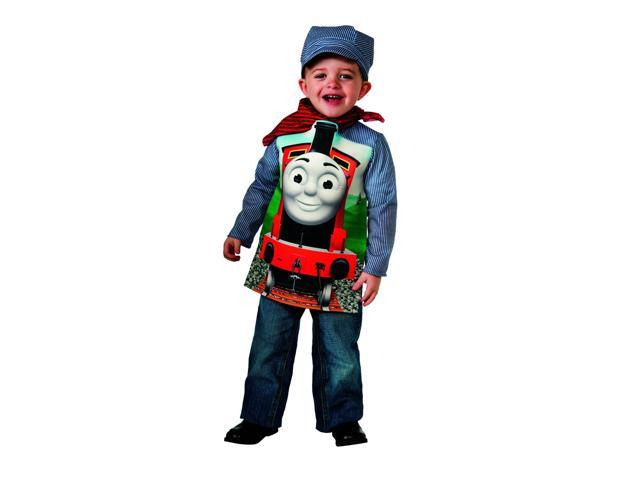 Thomas The Tank Deluxe James Toddler Child Costume