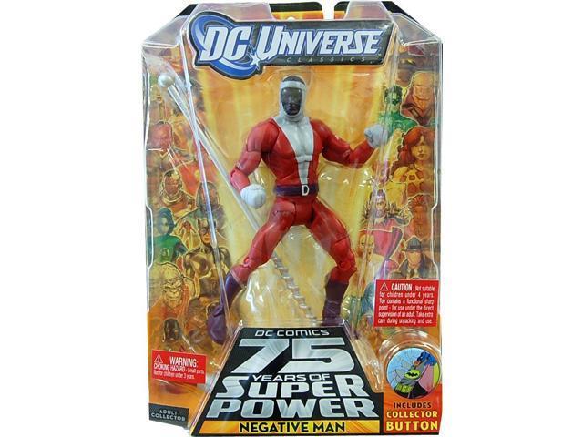 Dc Universe Collect & Connect Figure Negative Man Black