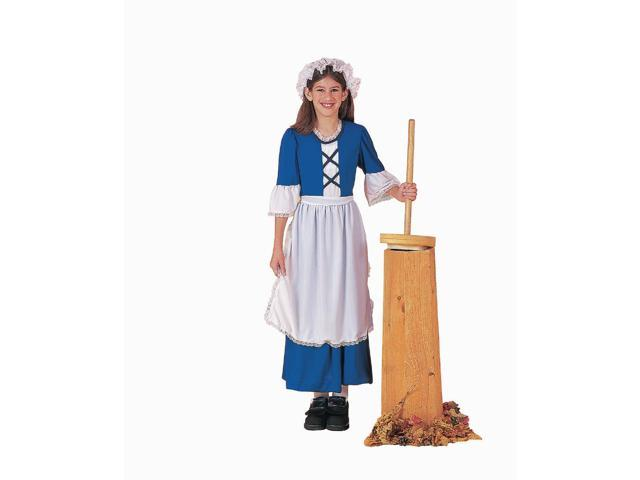 Colonial Girl Costume Child Small