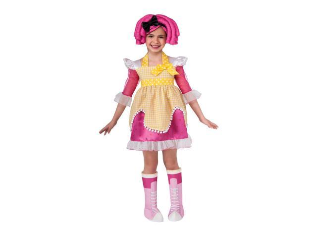 Lalaloopsy Deluxe Crumbs Sugar Cookie Romper Costume Child Toddler 2-4T