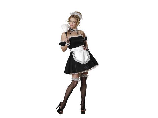Oui Oui Sexy Maid Adult Costume Small