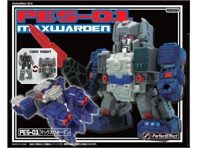 Perfect Effect Action Figure: PES-01 Maxwarden Core Robot