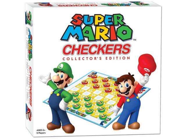 Super Mario Brothers Checkers Tic Tac Toe