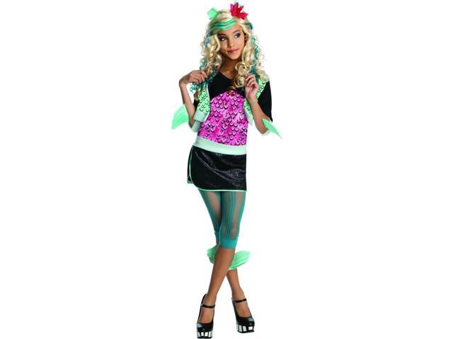 Monster High Lagoona Blue Costume Child Large 12-14