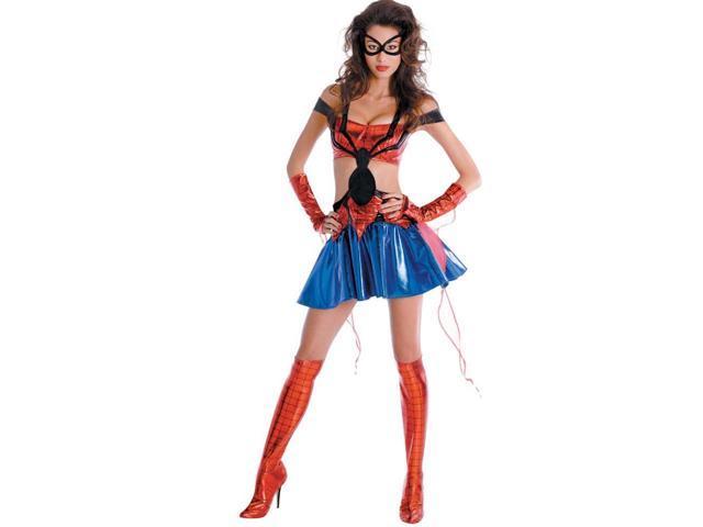 Spider Girl Sexy Prestige Adult Costume 12-14