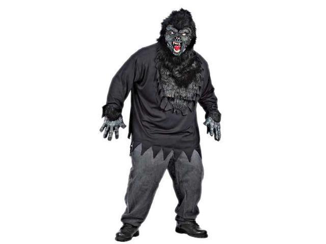 Gorilla Costume Adult Plus Size