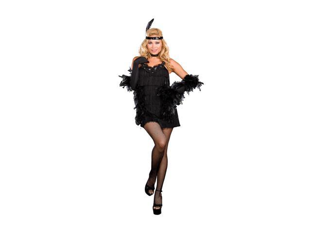 Sexy All That Jazz 20's Flapper Costume Adult X-Large