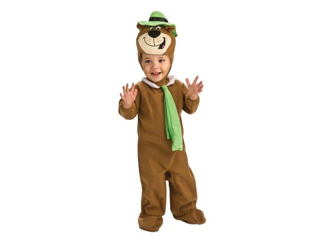 Yogi Bear EZ-On Romper Costume 6-12 Months