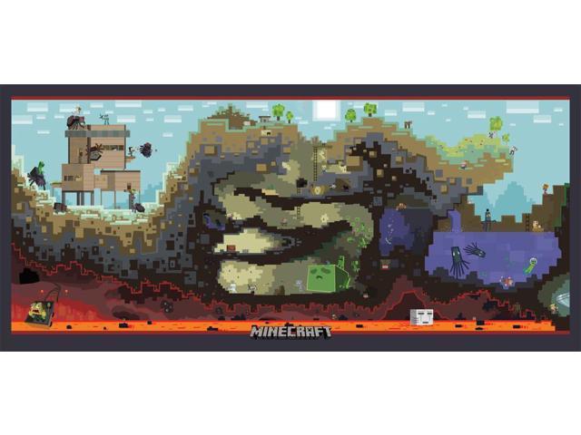 Minecraft Screenshot Poster