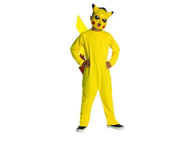 Pokemon Pikachu Costume Child Medium 8-10