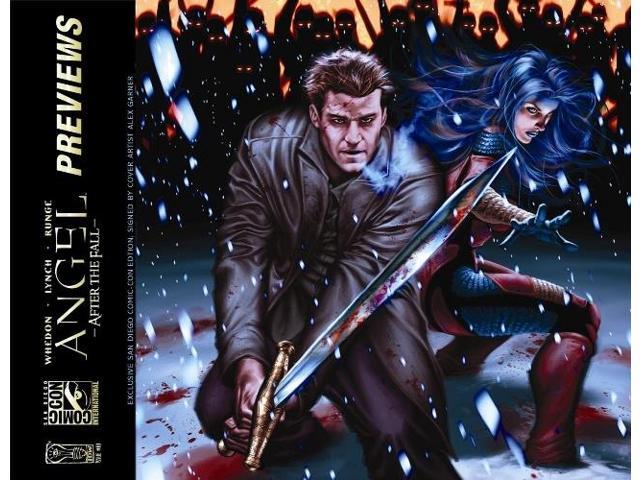 Sdcc 2008 Angel #10 Wraparound Cover Variant