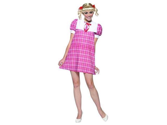 Cindy Brady Bunch Hippie 70'S Tv Show Female Costume Dress Adult Standard