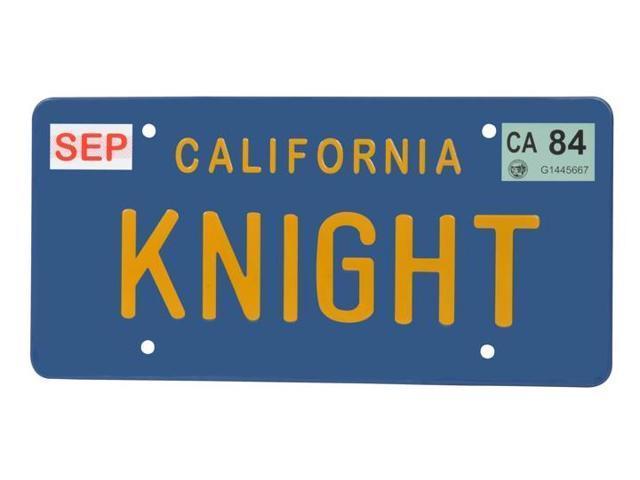 Knight Rider Knight License Plate Replica