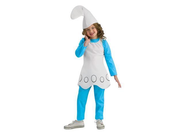 The Smurfs Movie Smurfette Costume Child Medium